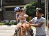 Brothers enjoying ponny ride-min